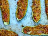 Almost-Guatemalan Stuffed Squash