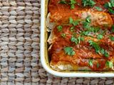 Sweet Potato and Chard Enchiladas