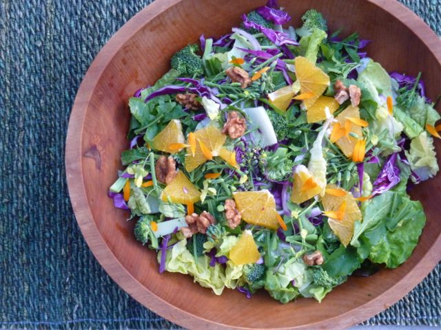 Broccoli and Orange Salad