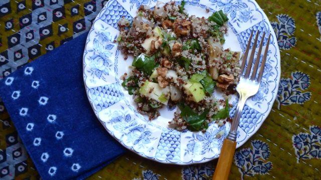 Quinoa with Fennel Three Ways