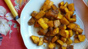 Maple Spiced Winter Squash