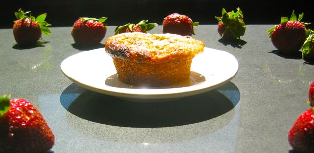 Sparkling Banana Strawberry Muffin