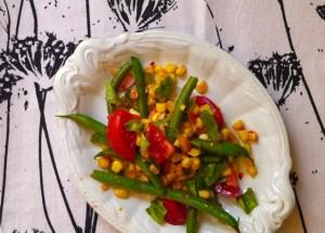 Impromptu Summer Salad