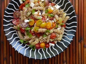 Tomato and Pepper Pasta Salad