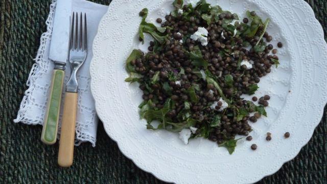 Lentil and Arugula Salad