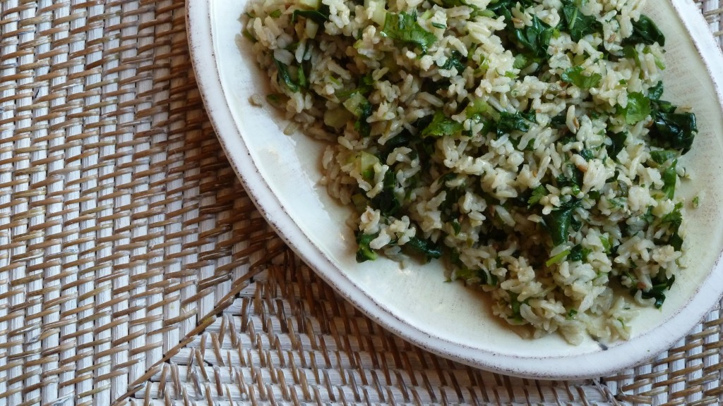 Rice with Greens