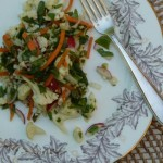Cauliflower and Carrot Salad